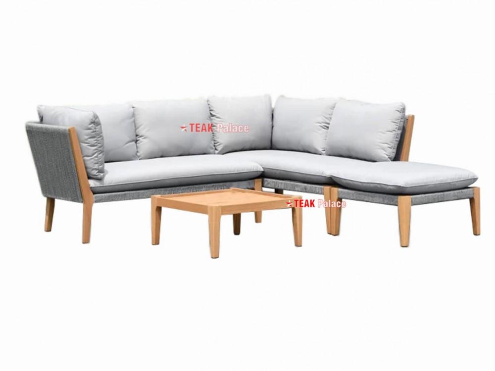Kursi Sudut Sofa Minimalis Kayu Jati Harga Murah