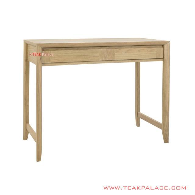 Teak Sentani Natural Minimalist Study Table