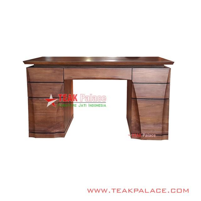 Office Desk Luxury Teak Wood XEON Series