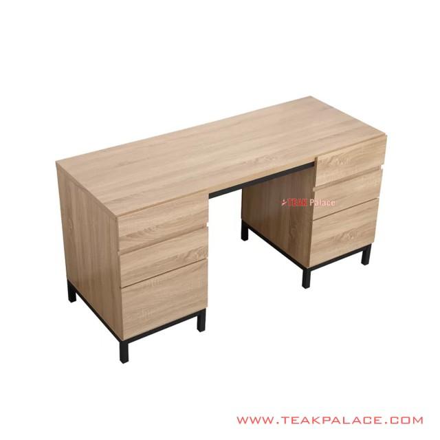 Work Desk Jordan Double Box Minimalist