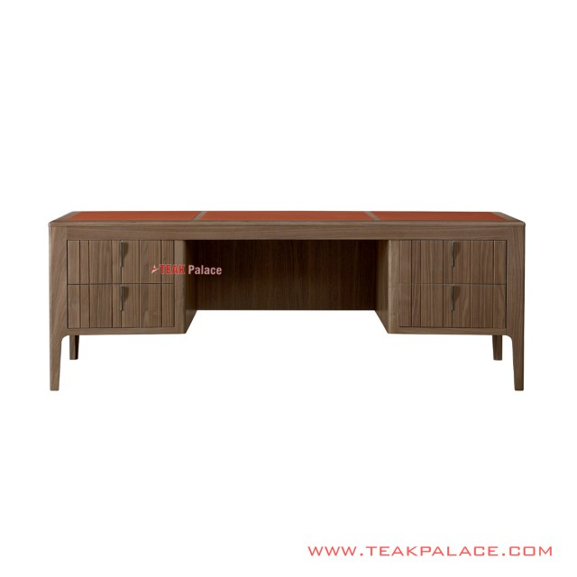 Workbench Table Top Leather Derby Series