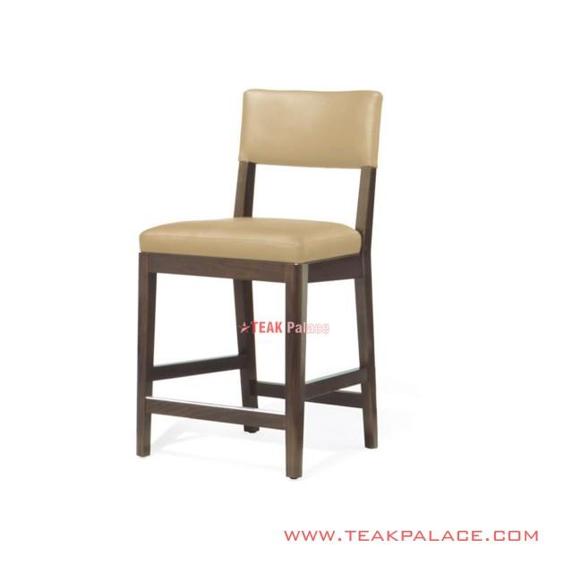 Bar Chair Minimalist Teak Mona Series