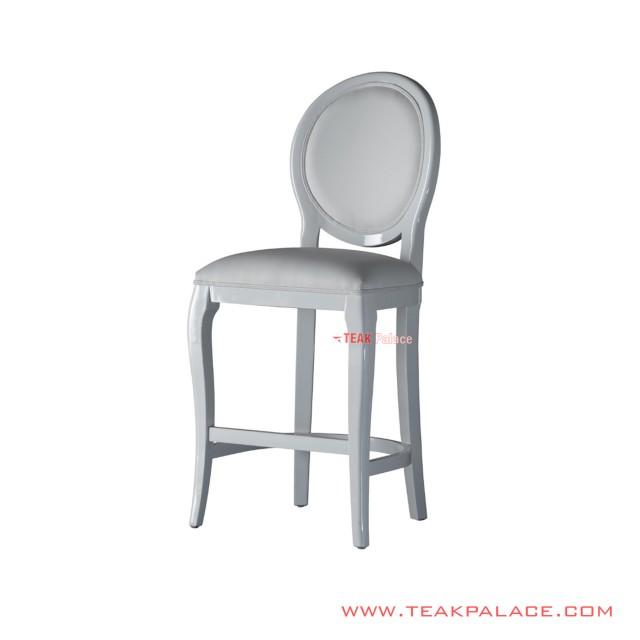 Bar Chair Duco White Maori Series