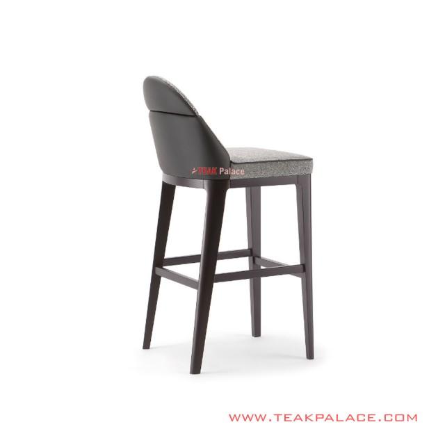 Andri Caffe Chair Jati Minimalis Black Walnut