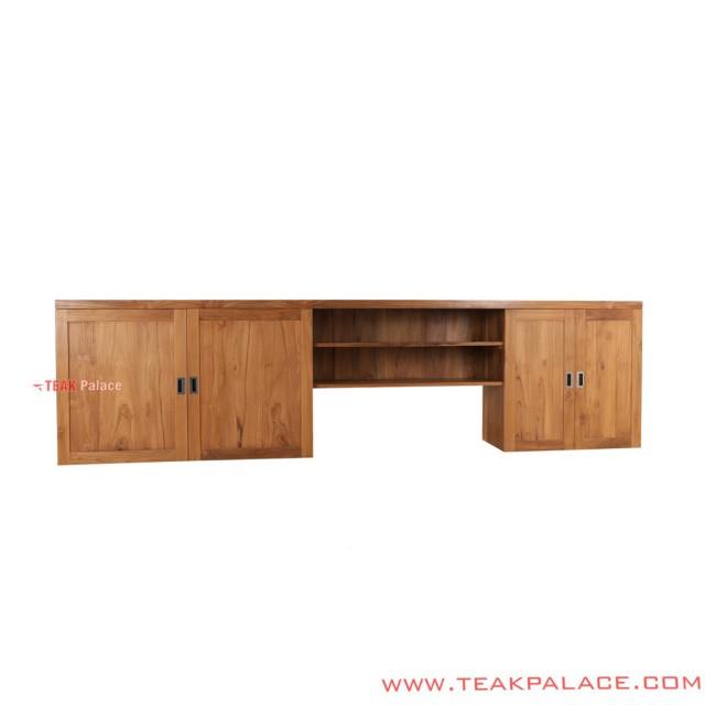Rico Series Modern Teak Kitchen Cabinet