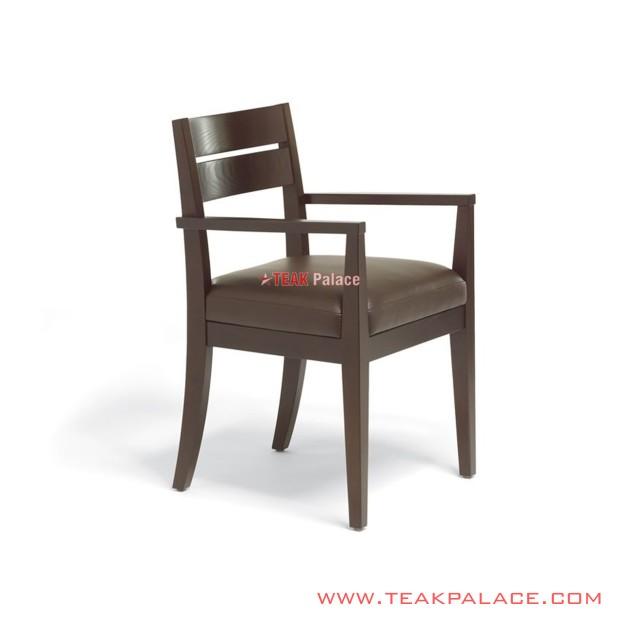 Dining Chairs Minimalist Leather Oscar  ArmChair Mona Series