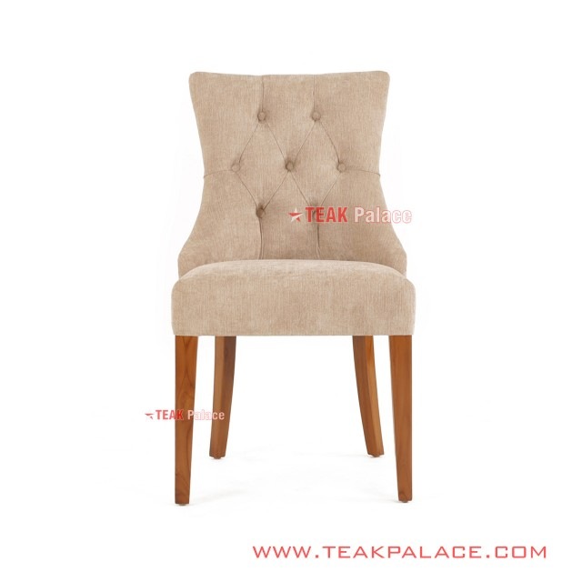 Alera Series Minimalist Teak Foam Chair