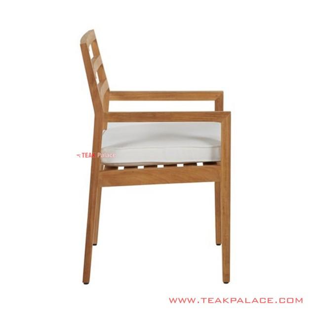 Dario Teak Minimalist Dining Chairs