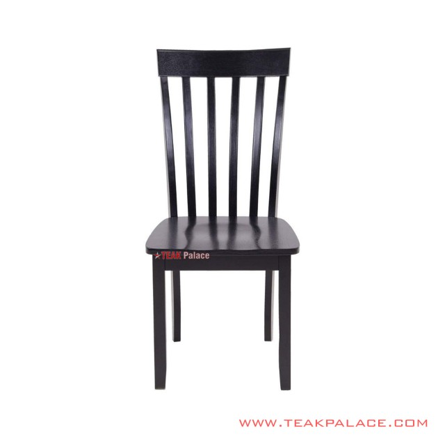 Minimalist Teak Riviera Black Dining Chair
