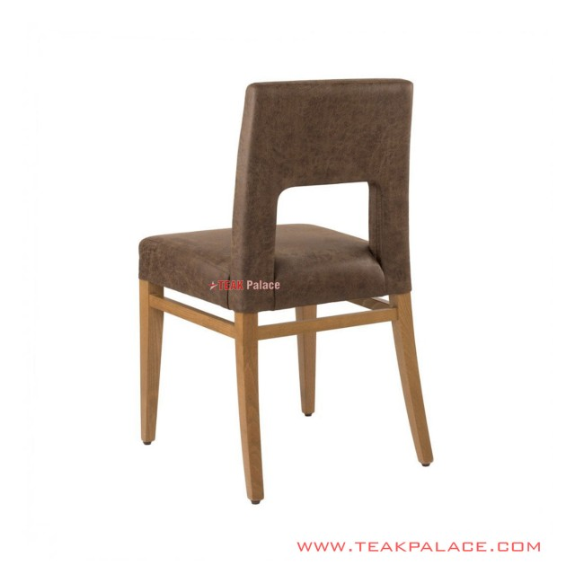 Dining Chairs Leather Salak Brown Cloe Series