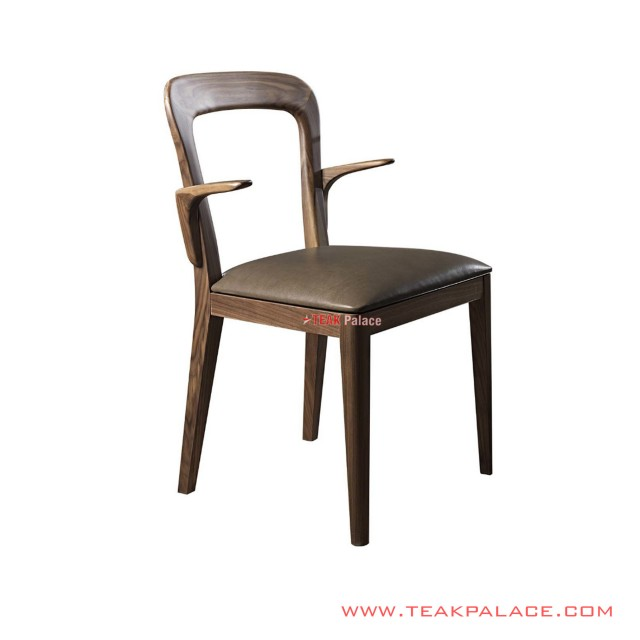 Dining Chair Petro Teak Salak Brown Oscar Mocha