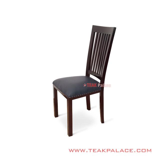 Teak Restaurant Dining Chairs Jepara Series Lampung