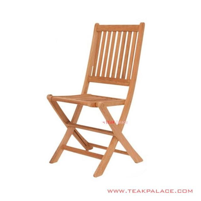 Teak Minimalist Lipat Chair