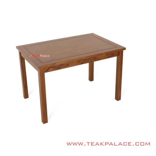 Dining Table Teak Natural Chair 6 Seater