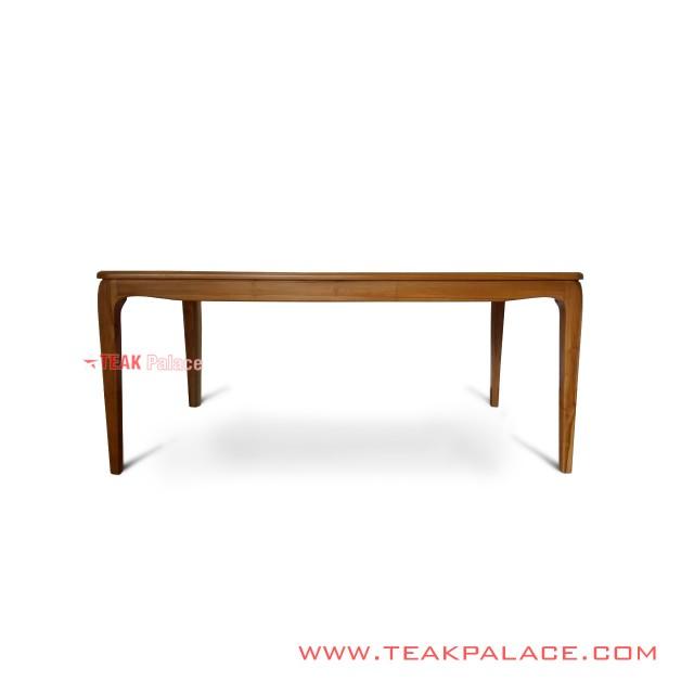 Minimalist Teak Dining Table 6 People Maya