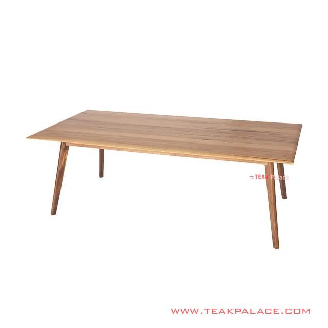 Dining Table Minimalist Natural Teak Jamal Series