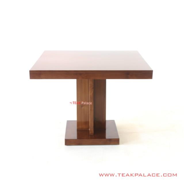 Dining Table Kotak Jati Minimalis