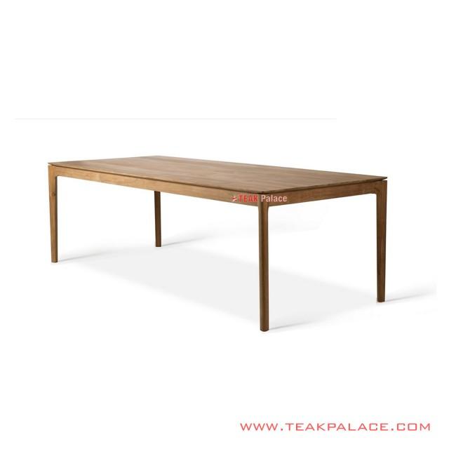 Aston Teak Solid Minimalist Dining Table