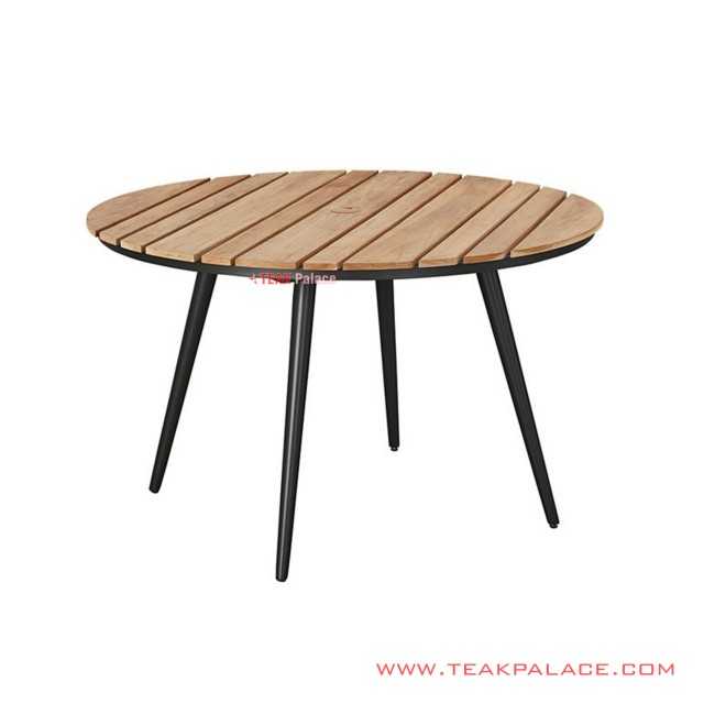 Minimalist Round Dining Table Najwa Series