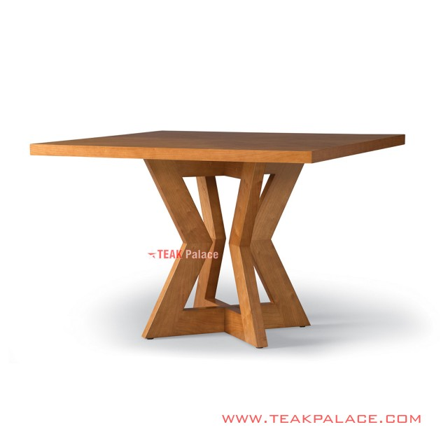 Dining Table Teak Wood Minimalist Mondy Series