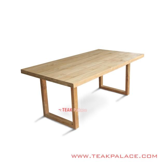 Minimalist Teak Melani Dining Table