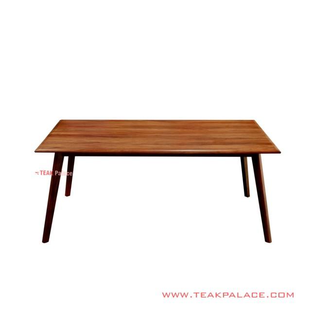 Dining Table Tirta Minimalist Teak Salak Brown