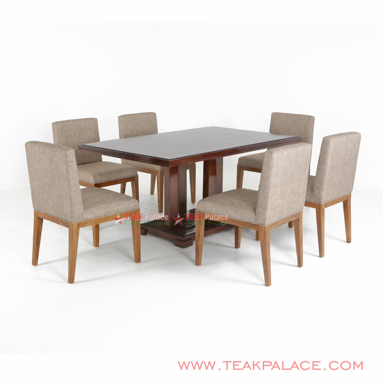 Cucina Letters Kitchen Decor, Dining Chair Minimalist Set Of 6 People Tegal Series