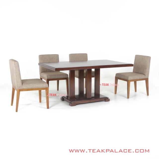 Meja Makan Minimalis Set 6 orang Seri Tegal