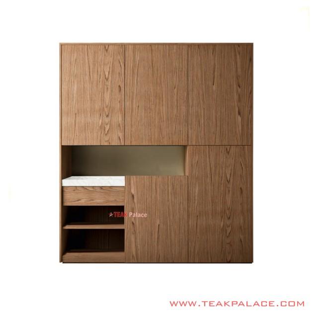 Buffet Table Natural Teak Wood Vennita Series