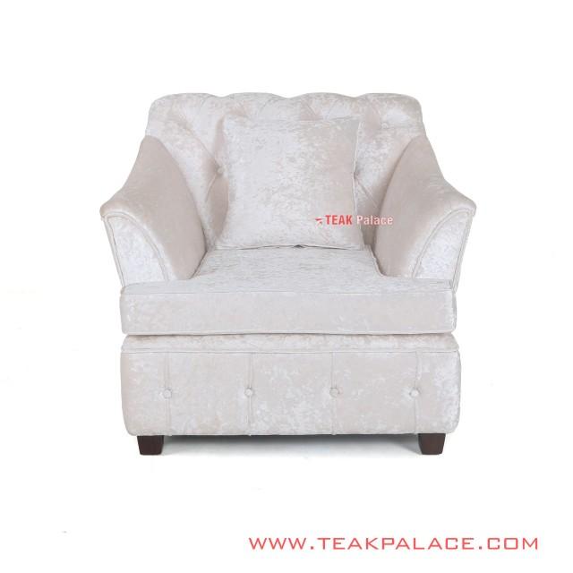 Single Sofa Modern White Musi  Series
