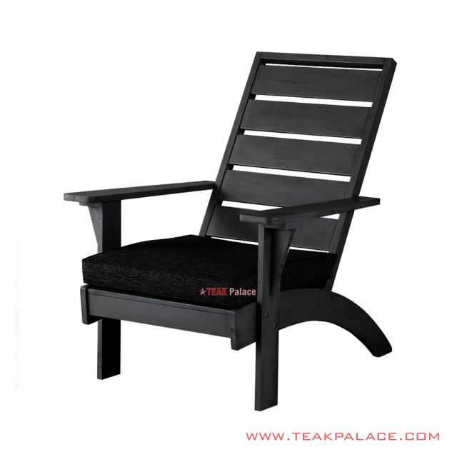 Kursi Teras With Cushion Black Minimalis Tarakan