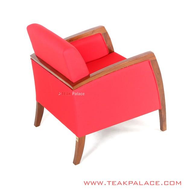 Kursi Sofa Red Seri Kuta Single Seater