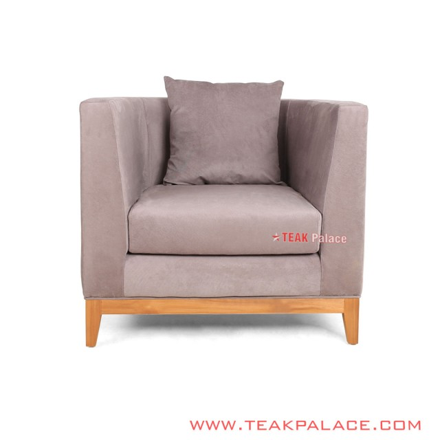 Kursi Sofa Armchair Single Retro Seri Kemang