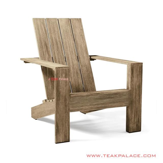 Garden Chair Atrox Minimalist White Wash Rustic