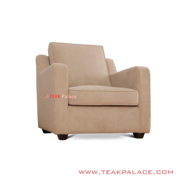 Sofa Single Minimalis Donatilo Jati