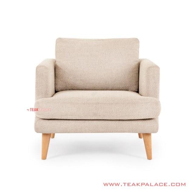 Sofa Single Modern Seri Daiki Minimalis