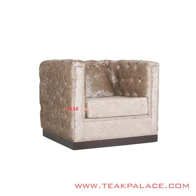 Armchair Sofa Minimalis Diamond Single Seat