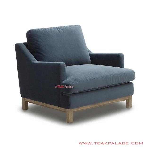 Sofa Single Hamilton Jati Minimalis
