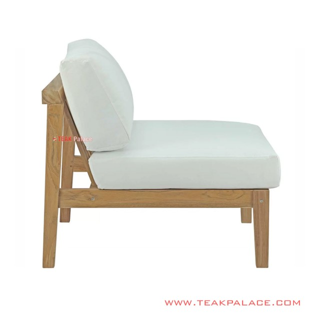 Sofa Single Athila Minimalis White