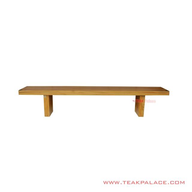 Made Golden Teak Wood Bench