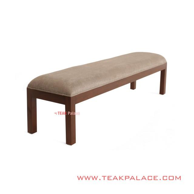 Minimalist Cream Rasya Jati Terrace Bench