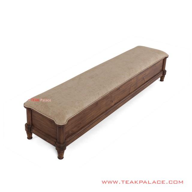 Gandaria Series Teak Minimalist Bench