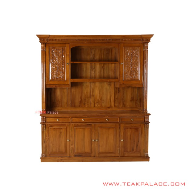 Buffet Cabinets Golden Teak TV Minimalist Palembang Series