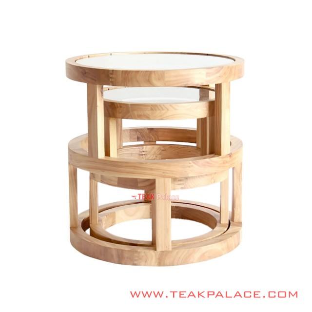 Ariyo Table Set Minimalist Natural