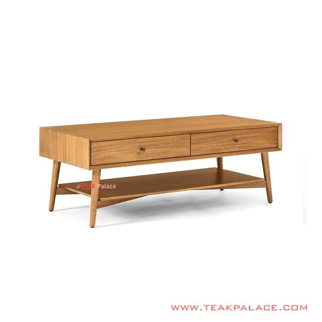 Bafilo Minimalist Teak Wood Guest Table