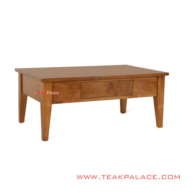 Coffee Table Salak Brown Teak Wood Bogor Series