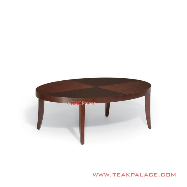 Meja Tamu Oval Minimalis Seri elegant