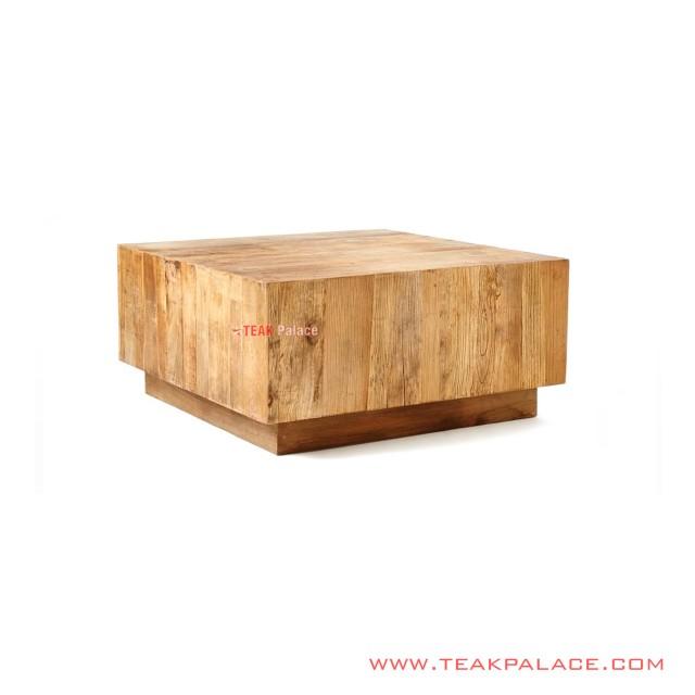 Meja Tamu Kotak Seri Archa Minimalis Jati
