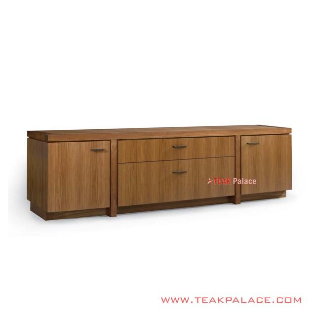 Buffet Drawer Tv Table Golden Teak Semarang Series