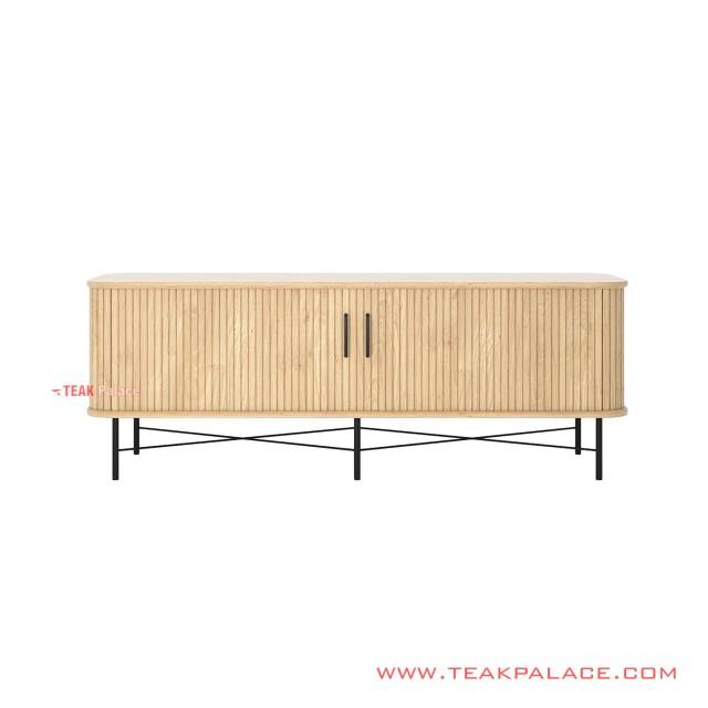 Sideboard Minimalist Natural Teak Ivina 200 cm
